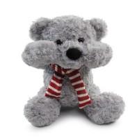 waffle cute teddy bear grey