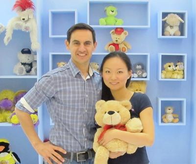 zookini founders - Patrick & Charlene